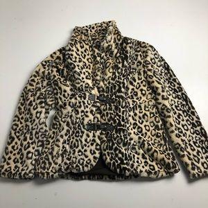 Joseph Ribkoff Cheetah Print Jacket Size 10